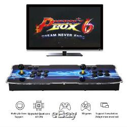 1300 HD Games Real Pandora Box 6 Arcade Console 2 Players Download More Games