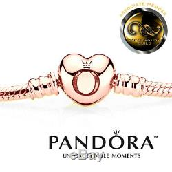 18ct Rose-Gold Plated Pandora Moments Bracelet In Original Box. Code 590719