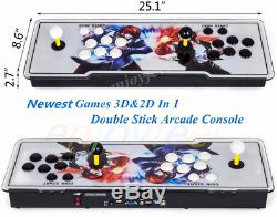 2020 NEWEST Version Pandoras Box 12S 3188 Games 3D&2D in 1 Home Arcade Console
