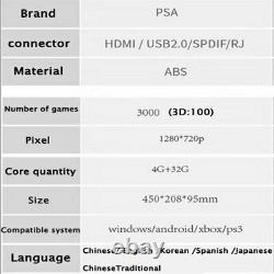 3000 in1 3D Pandora's Gamepad Games Consoles HDMI Video for Home TV Box Adult