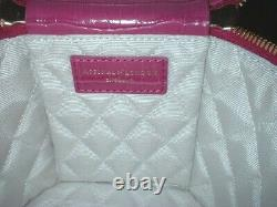 Aspinal Of London Pink Leather Pandora Bag In Mini Croc New In Box G. Card D. Bag