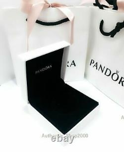 Authentic Pandora Knotted Heart T-bar Bracelet 7.1 Inch Brand New With Box