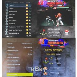 GWALSNTH 3D Pandora Box 18S Arcade Games Console 4000 HDMI Video Game With WIFI