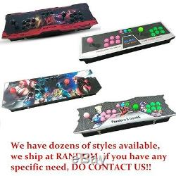 Metal Double Stick Arcade Console 800 Games 2 Players Pandora's Box 4S New