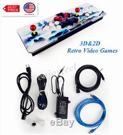 NEW HOT! Pandora Box 3D&2D 2706 Games in 1 Home Arcade Console HD In USA Stock