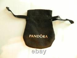 NEWithTAGS AUTHENTIC PANDORA KNOTTED HEARTS T-BAR NECKLACE #398080-90 HINGED BOX
