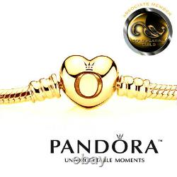 New 24ct Gold-Plated Pandora Moments Bracelet In Original Box. Code 590719