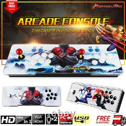 New Pandora Box 9S 2199 in 1 3D & 2D Games Home Arcade Console US Stock