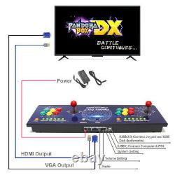 Newest Pandora Box DX 3000 in 1 Game Arcade Console with 6 Buttons Support 34P