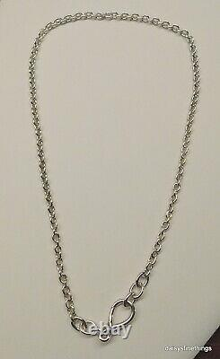 Nwt Authentic Pandora Necklace Chunky Infinity Knot Chain #398902c00-50 Hing Box