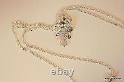 Nwt Authentic Pandora Necklace Dazzling And Dancing Butterflies #397911cz-80 Box