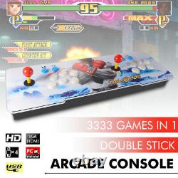 Pandora Box 12s 3333 in1 Video Games 2 Players Arcade Console HD USB VGA XC802US