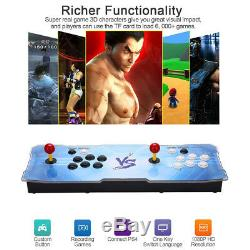 Pandora Box 3D Arcade Console with 2200 Retro HD Games 2 Players Add More Games