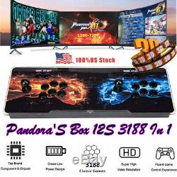 Pandora's Box 12s 3188 All In 1 3D&2D Video Games Arcade Console 2 Players HDMI