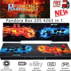 Pandora's Box 20s 4263 Games in 1 3D Video Game Double Stick Arcade Console New