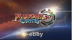 Pandora's Box 3d+ 8000 In 1 Games Wi-fi Console + Wiring Harness 12v Power Plug
