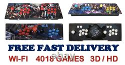 Pandora's Box 3d+ Wifi Edition With 4018 Games Arcade Console Various Styles