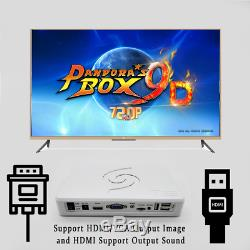 Pandoras Box 9D 2500 in 1 motherboard Wireless Game System TV Plug & Play
