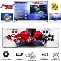 Pro 3D Pandora Box HDMI Video 3400 Games in 1 Home Arcade Console Game 4 Players