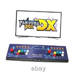 Real Pandora's Box DX Arcade Game Console Up to 4 Players, Save 8 Buttons