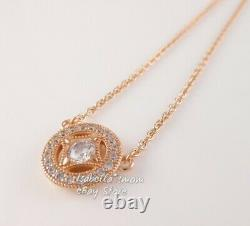 VINTAGE ALLURE Authentic PANDORA Rose GOLD Plated NECKLACE 380523CZ-45 NEW w BOX