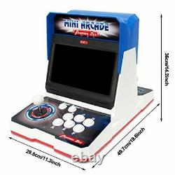 Wisamic Real Pandora's Box 6 Arcade Game Console with Dual 10.1 inch Screen 1
